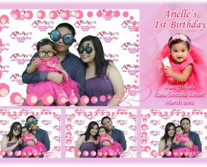 2.Arielle's 1st Year Birthday