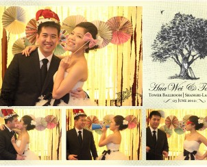 7.Hua Wei and Tania's Wedding